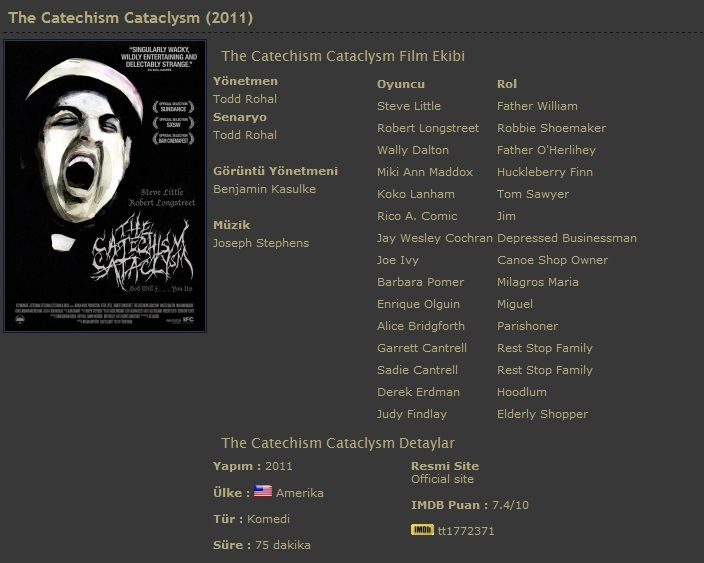 The Catechism Cataclysm   2011 DVDRip XviD