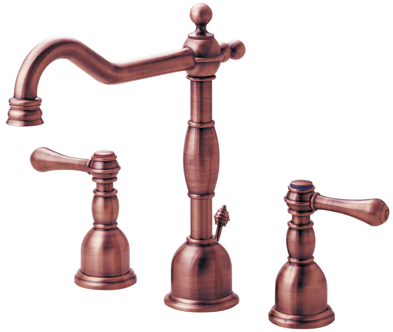 Danze D304057ac Opulence Two Handle Widespread Lavatory Faucet Antique Copper Ebay