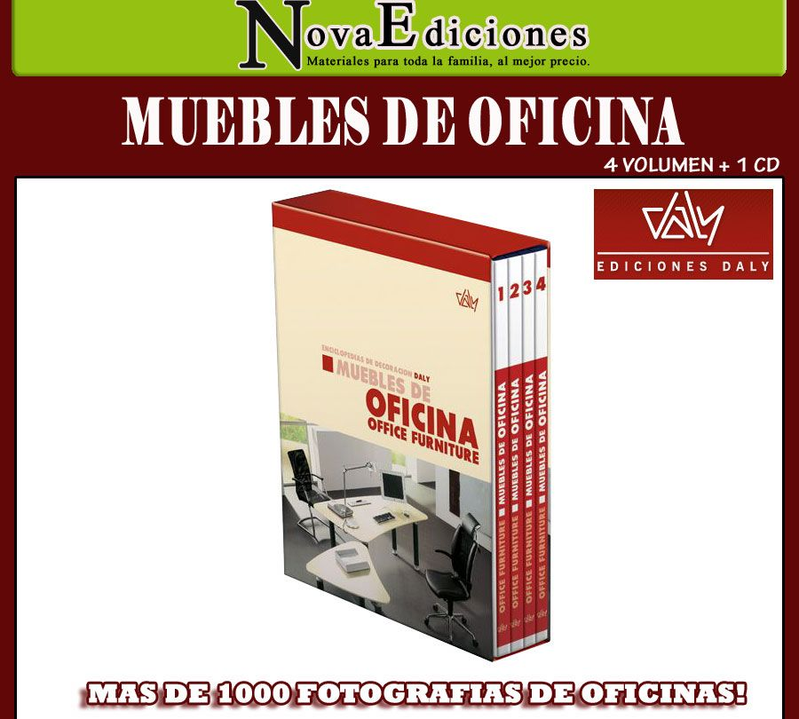 Muebles de oficina 4 vols 1 cd 1 en mercado libre for Muebles de oficina mercado libre