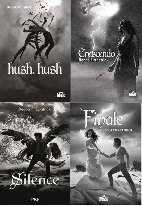 Saga Hush Hush Tome 1 à 4