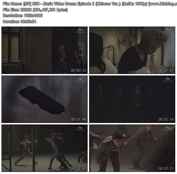 [MV] EXO - Music Video Drama Episode 2 (Chinese Ver.) [MelOn HD 1080p]